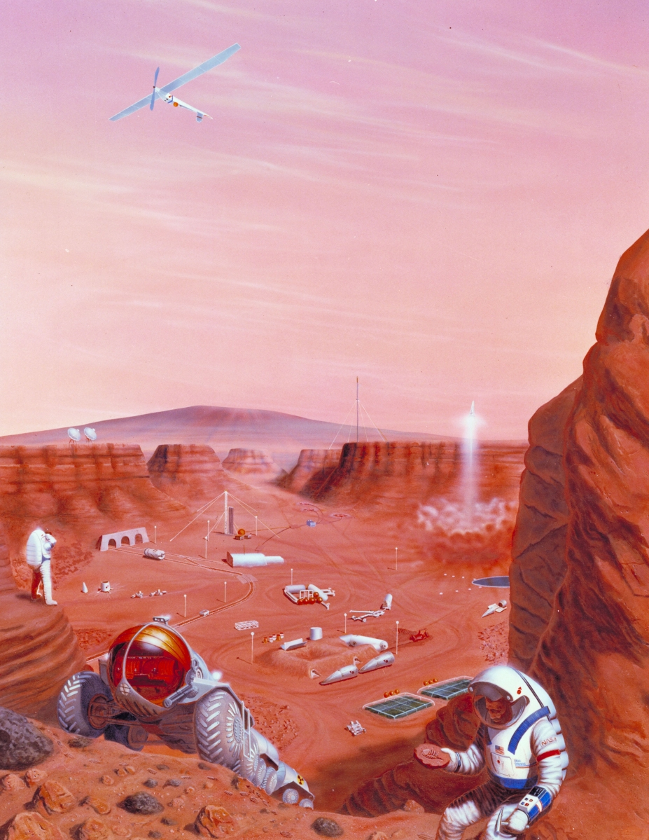 Ethics and the Conquest of Mars
